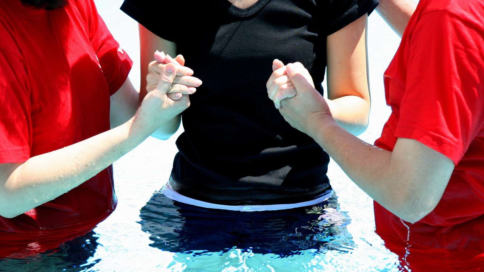 What a Baptism Sounds Like When a Young Case Maker Decides to Follow Jesus